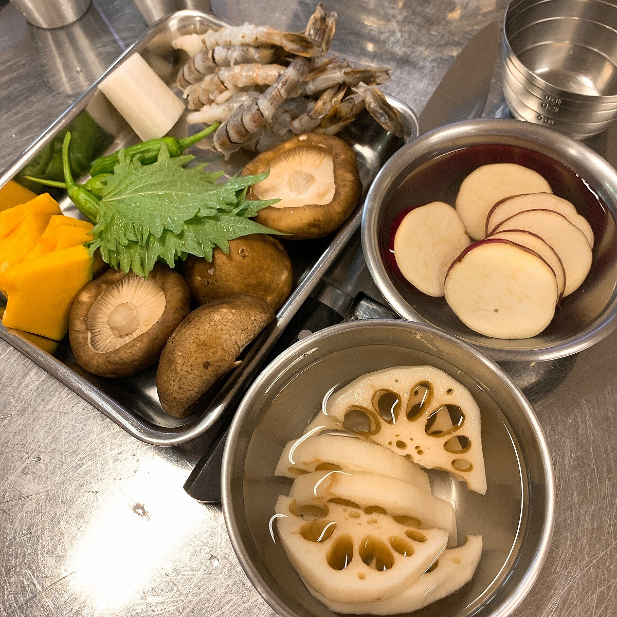 天ぷら野菜